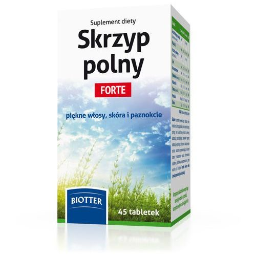 Skrzyp Polny Forte tabl. 45 tabl., postać leku: tabletki