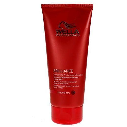 Wella Brilliance - odżywka do cienkich włosów farbowanych 200ml - produkt z kategorii- odżywki do włosów