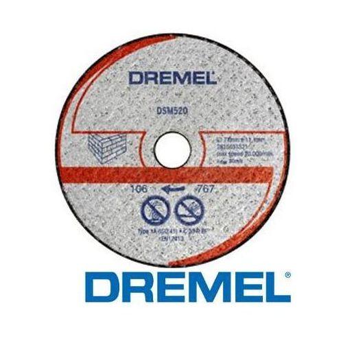 Oferta DREMEL Tarcza do cięcia kamienia DSM520 2 szt. (2615S520JA)