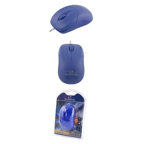 Titanum Mysz przewodowa  , optyczna 3d, arowana, tm109b
