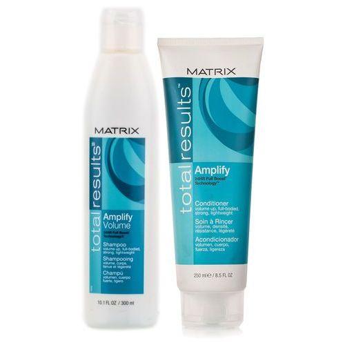 Matrix Total Results Amplify - Zestaw do włosów cienkich : Szampon 300ml + Odżywka 250ml - produkt z kategorii- odżywki do włosów