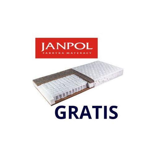 Materac EREBU, Rozmiar - 80x200, Pokrowce - Jersey - Dostawa 0zł, GRATISY i RABATY do 20% !!!, produkt marki Janpol