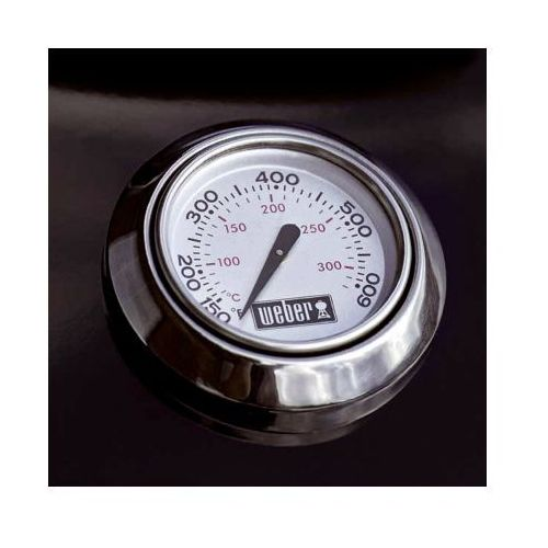 Termometr wbudowany w pokrywę, produkt marki Weber