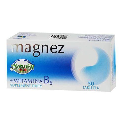 Magnez + Witamin B6 50 tabl., postać leku: tabletki