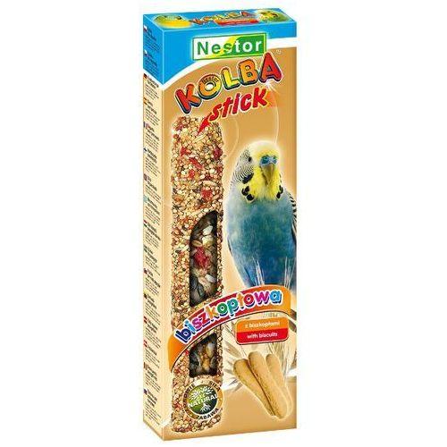 NESTOR 2szt/op kolba biszkoptowa dla papużki falistej, Nestor