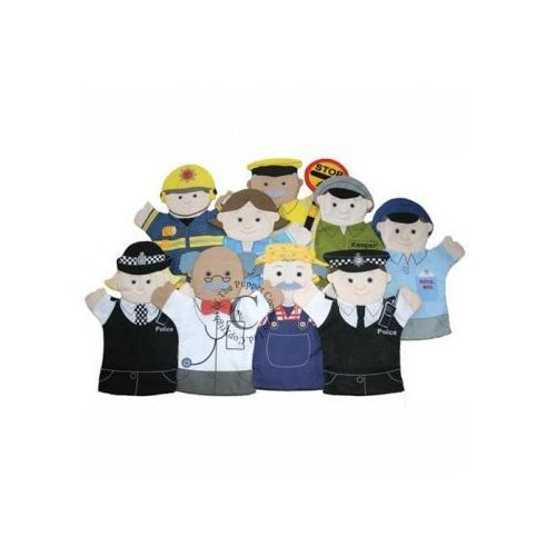 Pacynka-rękawica - zestaw 9 postaci (pacynka, kukiełka)
