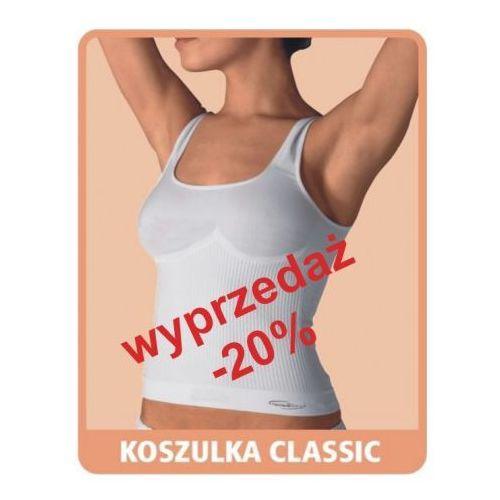 Artykuł Koszulka przeciwcellulitowa i modelujaca Classic - biała i beżowa z kategorii bielizna wyszczuplająca