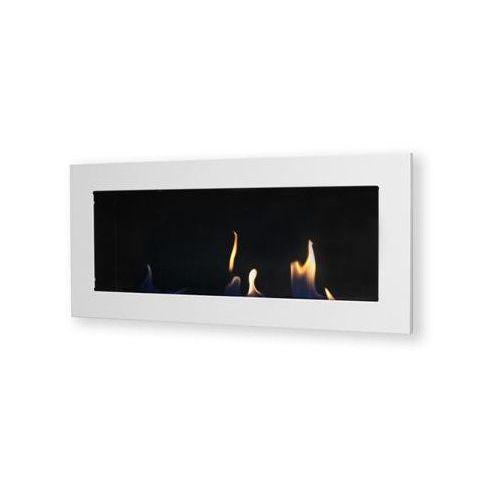 Biokominek dekoracyjny prostokątny 90x40 biały Flat EF-9040-0 - oferta [055b4779c7a5f408]