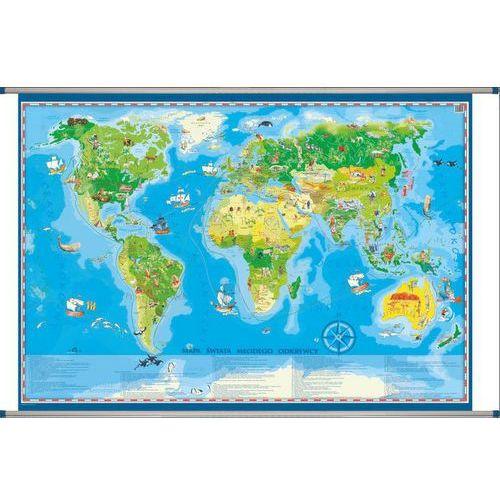 Świat mapa ścienna dla dzieci od SELKAR
