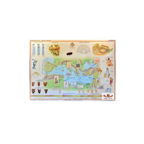 Produkt Starożytna Grecja - państwo i kultura. Mapa ścienna., marki Meridian