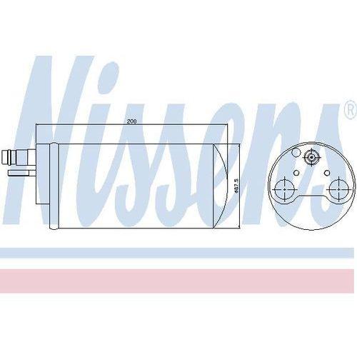 Towar z kategorii: osuszacze powietrza - Osuszacz, klimatyzacja NISSENS 95341