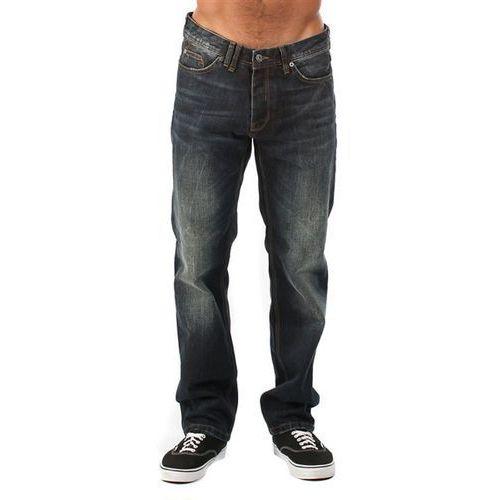 spodnie BENCH - Wahwah V6 Dark Worn (WA018) rozmiar: 32/32 - produkt z kategorii- spodnie męskie