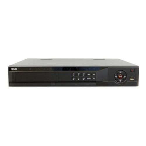 BCS-NVR08045M-P Rejestrator sieciowy 8 kanałów, Switch PoE 8 portów, 4 HDD SATA, USB, VGA, HDMI, PTZ, Bitrate160/160