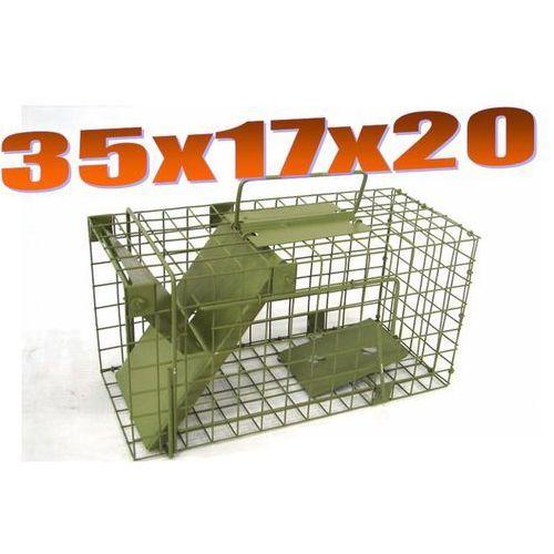 Pułapka jednowejściowa na szczury ZL S1 od Mediasklep24