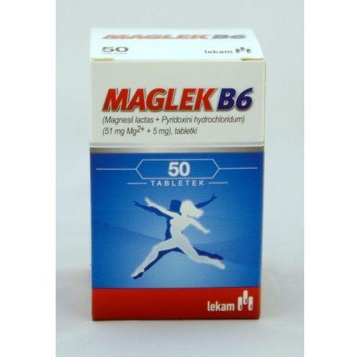 Maglek B6 tabl.x 50, postać leku: tabletki