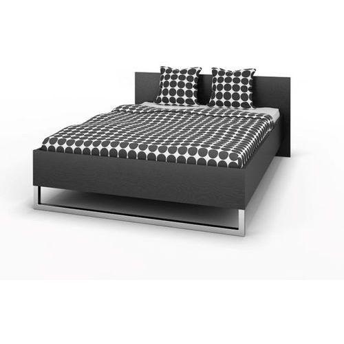 STYLE łóżko 140x200cm - Czarny ze sklepu Meble Pumo