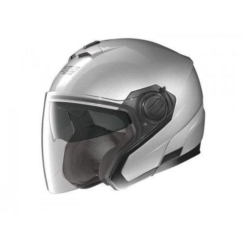 KASK NOLAN N40 CLASSIC N-COM Srebrny XS, marki Nolan do zakupu w StrefaMotocykli.com