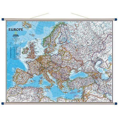 Europa. Mapa ścienna polityczna Classic 1:5,5 mln wyd. , produkt marki National Geographic