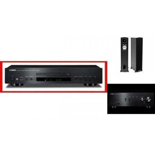 YAMAHA A-S301 + CD-S300 + KLIPSCH F10 - wieża, zestaw hifi - zmontuj tanio swój zestaw na stronie