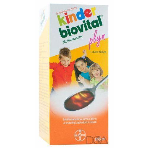 Kinder Biovital Płyn multiwitamina 650ml, postać leku: płyn