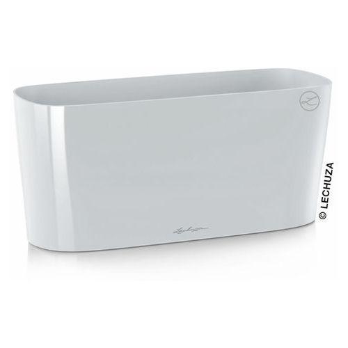 Donica Lechuza Delta 20 biała, produkt marki Produkty marki Lechuza