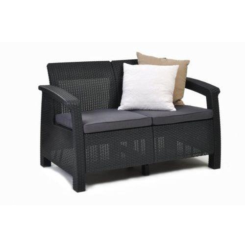Meble ogrodowe sofa 2-osobowa CORFU