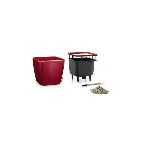 Produkt Donica -  - Quadro LS 28 - czerwona scarlet połysk, marki Lechuza