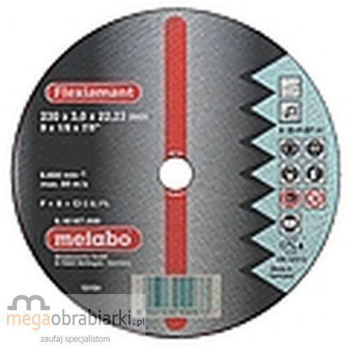 METABO Tarcza tnąca do stali 180 mm (25 szt) Flexiamant A 30-P RATY 0,5% NA CAŁY ASORTYMENT DZWOŃ 77 415 31 82 ze sklepu Megaobrabiarki - zaufaj specjalistom