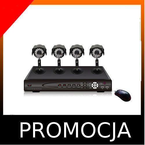 System bezpieczeństwa rejestrator+4  gwaranc wyprodukowany przez Kamery