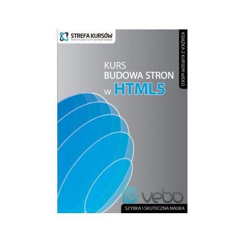 Kurs Budowa stron w HTML5 (książka)