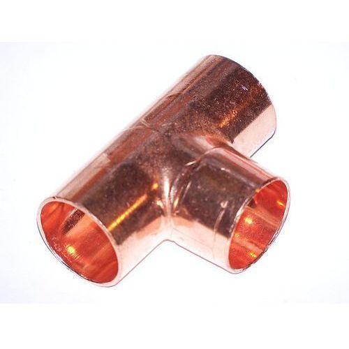 Produkt z kategorii- pozostałe artykuły hydrauliczne - Trójnik równoprzelotowy fi 22 VIEGA