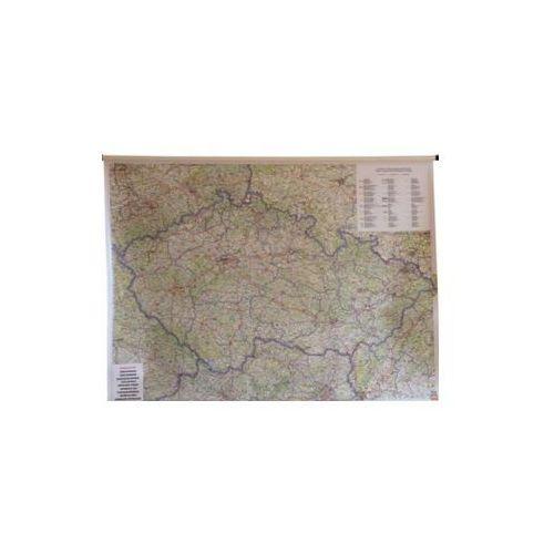 Czechy mapa ścienna samochodowa 1:400 000  & Berndt, produkt marki Freytag