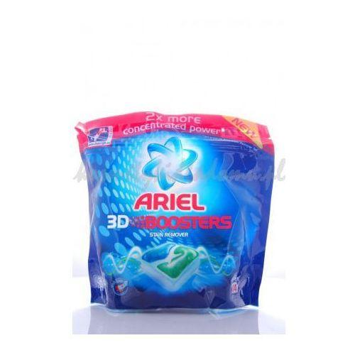 ARIEL 3D BOOSTER BLUE 14SZT - ODPLAMIAJĄCE KAPSUŁKI ARIEL (wybielacz i odplamiacz do ubrań) od kosmetykidla