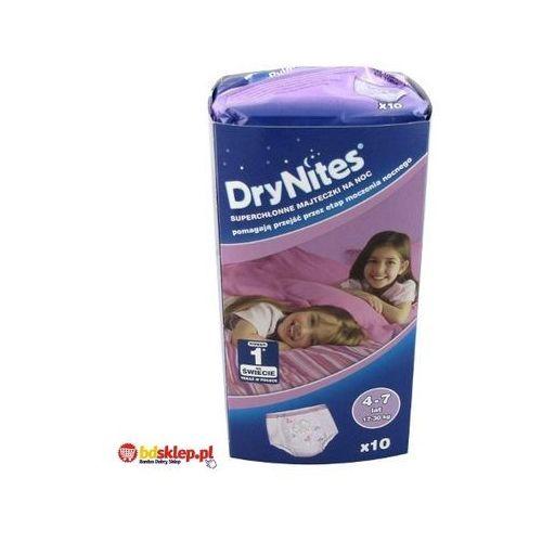 Produkt HUGGIES DryNites GIRL (17-30kg) majteczki na noc 10szt