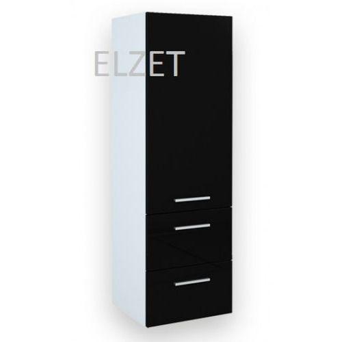ELITA Kwadro Black słupek 163030 - produkt z kategorii- regały łazienkowe