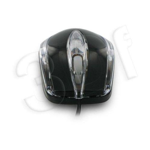 4world Mysz optyczna basic1 usb 800dpi czarna