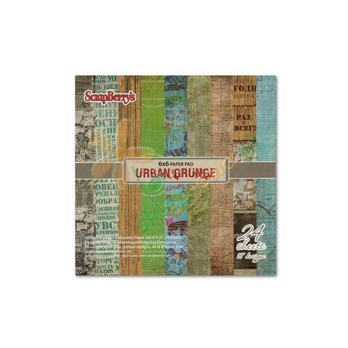 Oferta Zestaw papierów URBAN GRUNGE 24 arkusze 15,2x15,2 cm