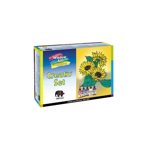 Oferta Window Art Nerchau - zestaw Creative, 5 x 80ml [55de2a7647f162d2]