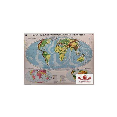 Świat. Budowa geologiczna / Wielkie formy ukształtowania powierzchni. Mapa ścienna, produkt marki Nowa Era