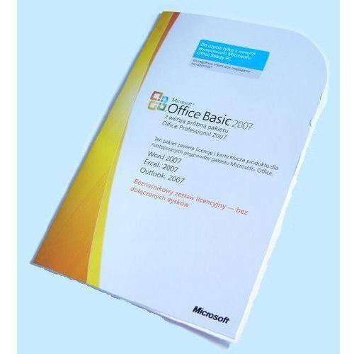 MS Office Basic 2007 PL OEM DOSTAWA GRATIS! (S55-02273) z kategorii Programy biurowe i narzędziowe
