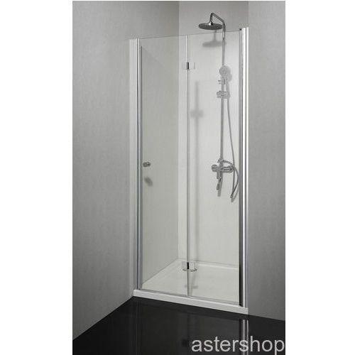SMARTFLEX drzwi prysznicowe składane do wnęki prawe 90x195cm D1291FR (drzwi prysznicowe)