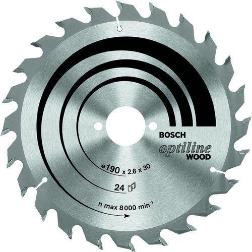 Oferta Tarcza tnąca Bosch Optiline Wood, śr.160 mm, 24 z/cal, 1 szt.