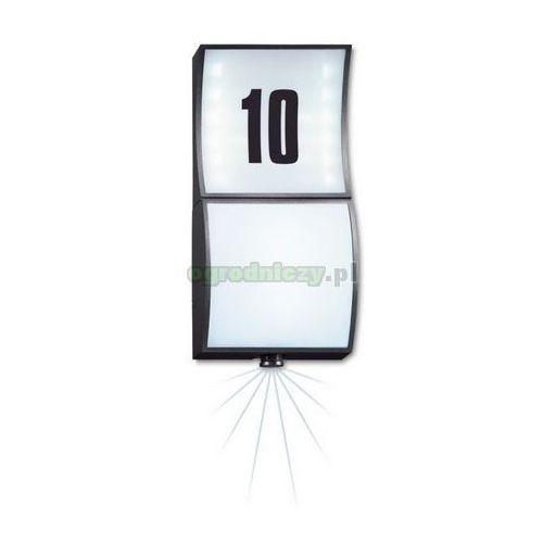STEINEL Lampa LED z czujnikiem zmierzchu i ruchu model L 675 (alu-antracyt) z kat.: pozostałe oświetlenie zewnętrzne