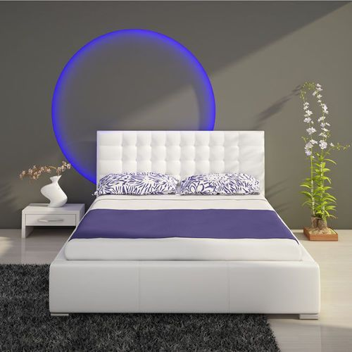 ISABELLE łóżko tapicerowane 100x 200 - 100 x 200 cm ze sklepu Meble Pumo