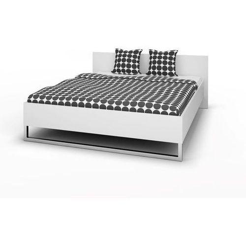 STYLE łóżko 160x200cm - biały mat ze sklepu Meble Pumo