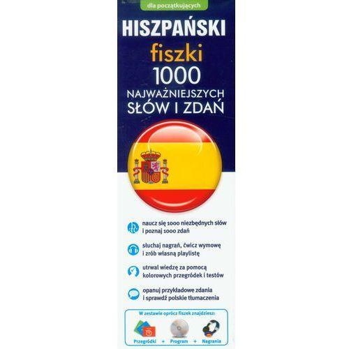 Hiszpański Fiszki 1000 najważniejszych słów i zdań - oferta [35126322755585fa]