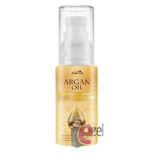 Produkt z kategorii- pozostałe kosmetyki do włosów - JOANNA ARGAN OIL ELIKSIR JEDWABISTY Z OLEJKIEM ARGANOWYM 30 ML