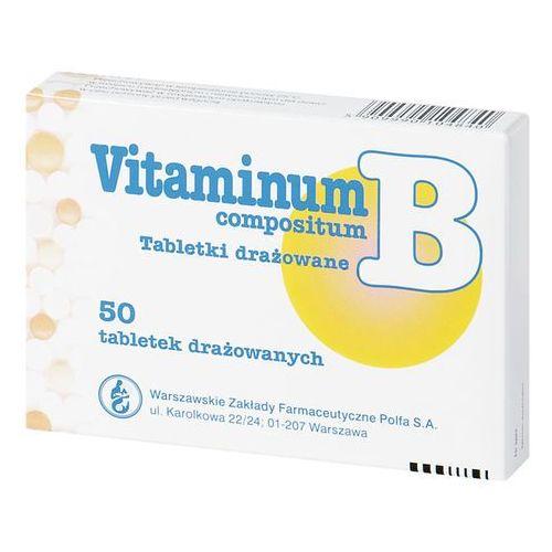 [tabletki] Vit. B comp. x 50 draż. TEVA