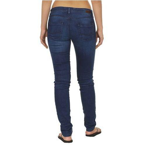 jeansy Roxy Amber Bright - BBO/Blue Overdyed - produkt z kategorii- spodnie męskie