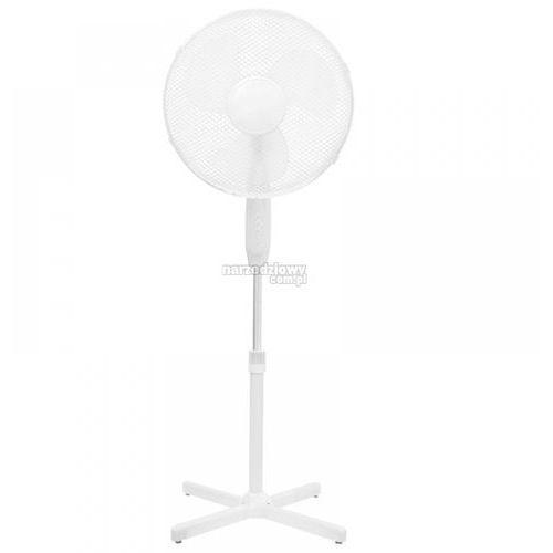 DEDRA Wentylator stojący 16`` 45W biały DA-1601 DESCON (produkt wysyłamy w 24h), towar z kategorii: Osuszacze powietrza